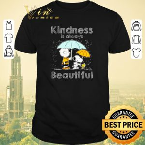 Original Snoopy Charlie Brown kindness is always beautiful shirt sweater