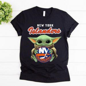 Original Star Wars Baby Yoda Hug New York Islanders shirt
