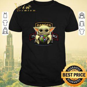 Premium Baby Yoda Hug 75th Ranger Regiment shirt sweater