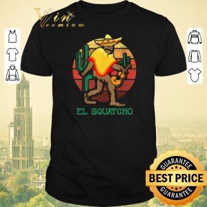 Premium Bigfoot el squatch cactus vintage shirt sweater