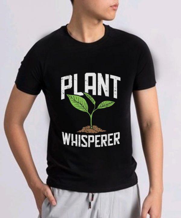 Premium Plant Whisperer Plant Tree Save The World shirt