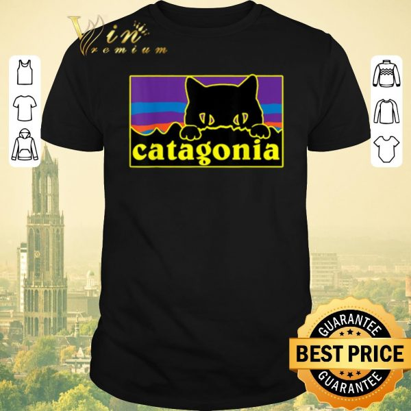 Pretty Catagonia Cat Meowntains shirt sweater
