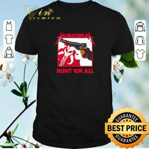 Pretty The Mandalorian logo hunt 'em all Star Wars shirt sweater