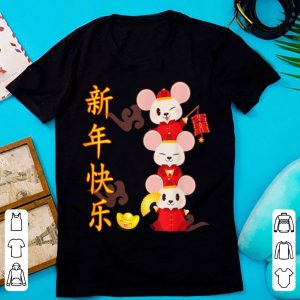 Top Year Of The Rat 2020 Happy Chinese New Year shirt