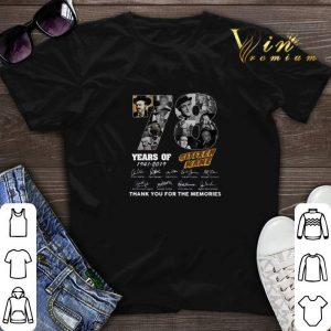 78 Years Citizen Kane Thank You For The Memories shirt sweater