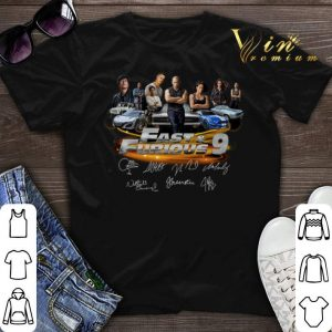 All character Fast & Furious 9 Signatures shirt sweater