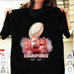 Awesome 50 Years Kansas City Chiefs Super Bowl Champions 1969 – 2019 shirt