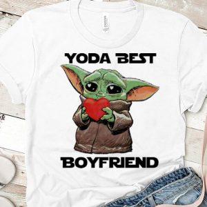 Awesome Baby Yoda Best Boyfriend Valentine's Day shirt