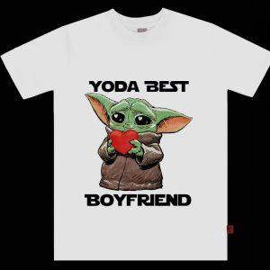 Awesome Baby Yoda Best Boyfriend shirt
