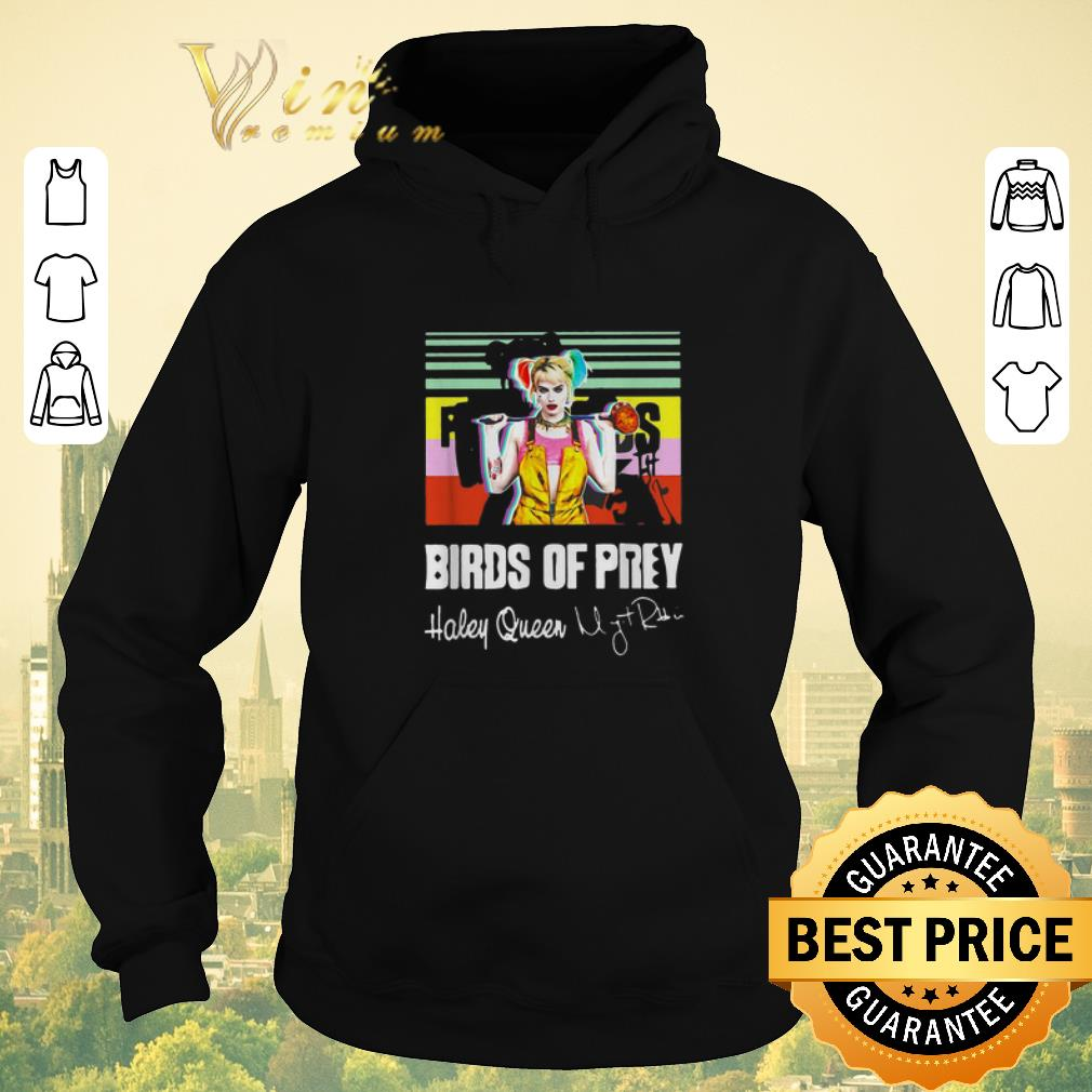 Awesome Birds of Prey Harley Quinn signature vintage shirt sweater 4 - Awesome Birds of Prey Harley Quinn signature vintage shirt sweater