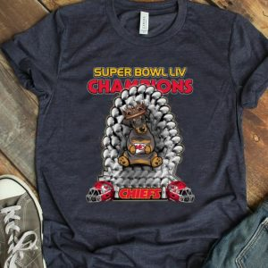Awesome Daschund Iron Throne Super Bowl LIV Champions Kansas City Chiefs shirt