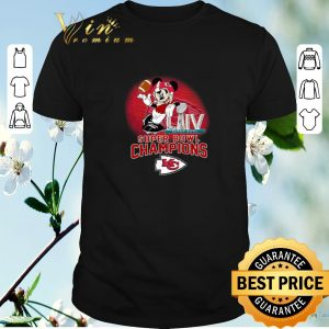 Awesome Mickey Mouse mashup Kansas City Chiefs Super Bowl LIV Champions shirt sweater
