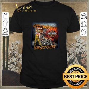 Awesome Motor Harley Davidson Cycles Mashup Harley Quinn Birds of Prey shirt sweater