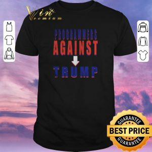 Awesome Programmers against Donald Trump shirt sweater