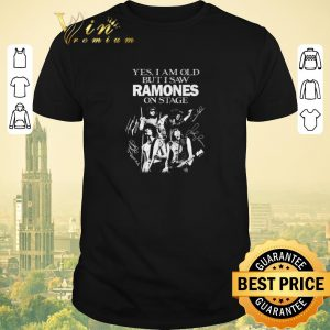 Awesome Yes i am old but i saw Ramones on stage signatures shirt sweater