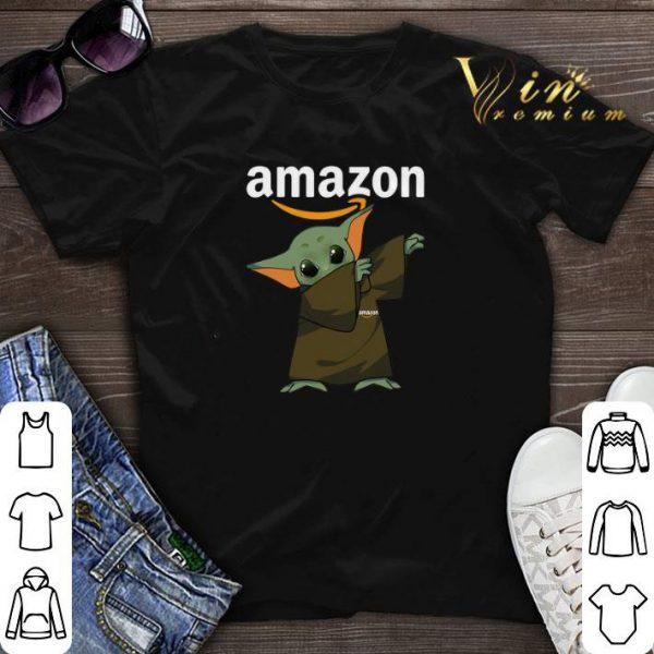 Dabbing Baby Yoda Mashup Amazon Star Wars shirt sweater
