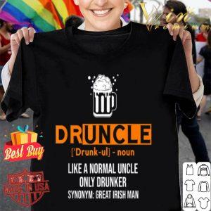 Druncle Funny St Patricks Day 2020 Irish shirt