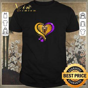 Funny Diamond Heart Kobe Bryant 24 Angel Love shirt sweater