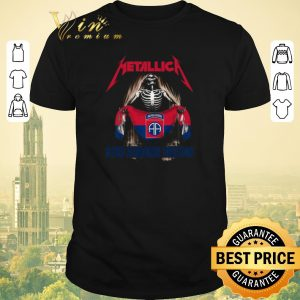 Funny Skeleton mashup Metallica 82nd Airborne Division shirt sweater