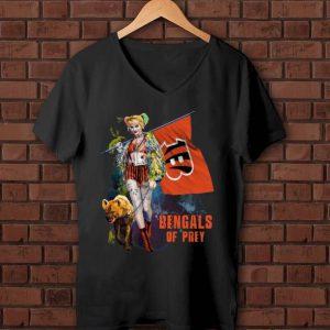 Great Harley Quinn Cincinnati Bengals Of Prey Flag shirt