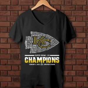 Great Kansas City Chiefs Super Bowl Liv Champions Hard Rock Stadium shirt