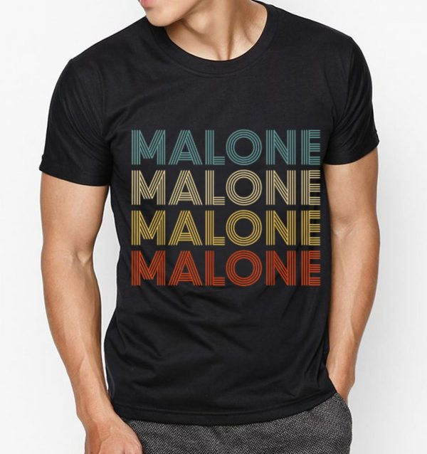 Great Malone Retro Vintage Post Malone shirt