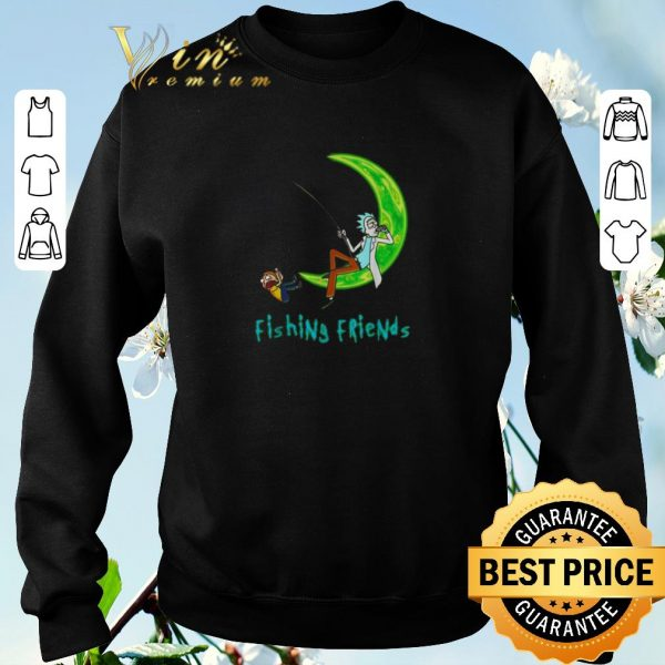 Hot Rick and Morty fishing friends shirt sweater