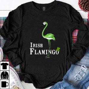 Hot St Patrick's Day Irish Flamingo shirt