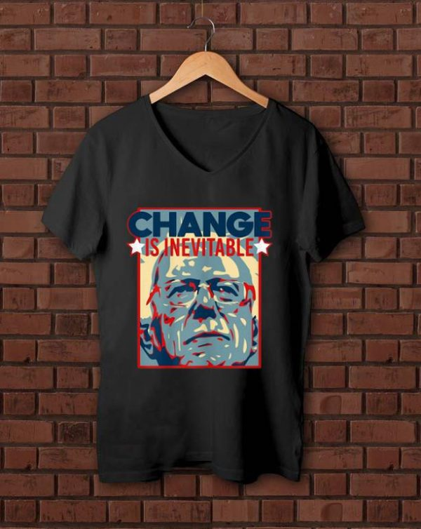Hot Vote Bernie Sanders 2020 Change Is Inevitable shirt