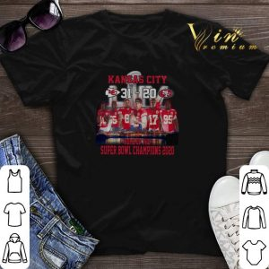 Kansas City 31 20 49ers home of the Super Bowl champions 2020 shirt sweater
