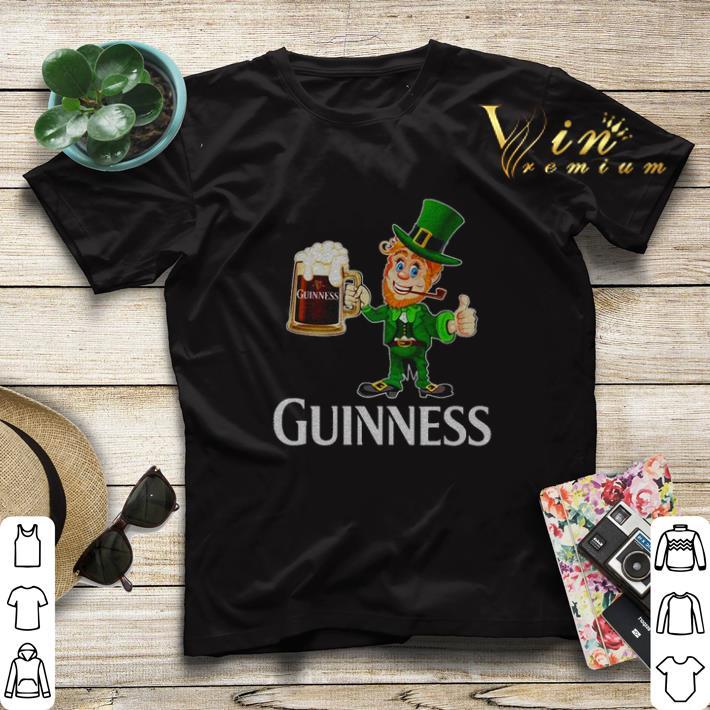 Leprechaun drink Guinness beer shirt sweater 4 - Leprechaun drink Guinness beer shirt sweater