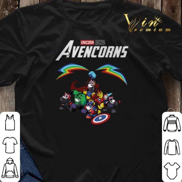 Marvel Unicorn Avencorns Avengers Endgame shirt sweater
