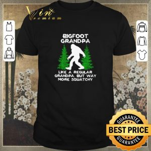 Nice Bigfoot grandpa like a regular grandpa but way more squatchy shirt sweater