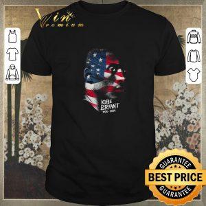 Nice Rip Kobe Bryant 1978 2020 American flag shirt sweater