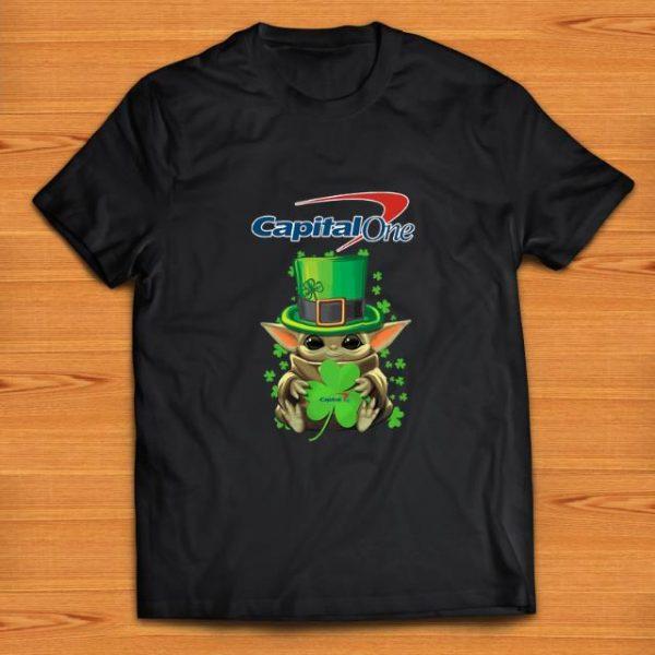 Official Baby Yoda Capital One Shamrock St.Patrick's Day shirt