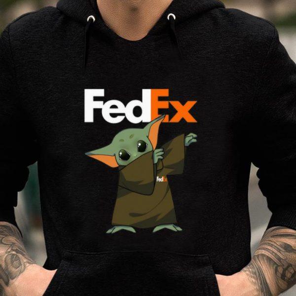 Official Baby Yoda Dabbing Fedex shirt