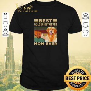Official Best Golden Retriever Mom ever vintage shirt sweater