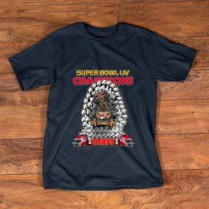Official Daschund Iron Throne Super Bowl LIV Champions Chiefs shirt