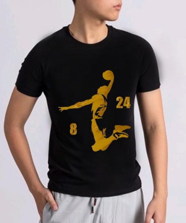 Official Number 8 And #24 Basketball Kobe Bryant shirt