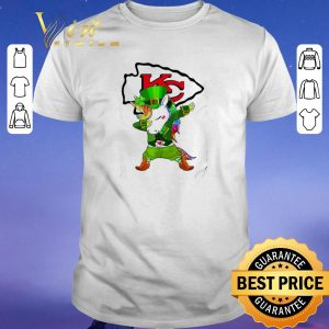 Official St Patrick's Day Unicorn Dabbing Kansas City Chief shirt sweater