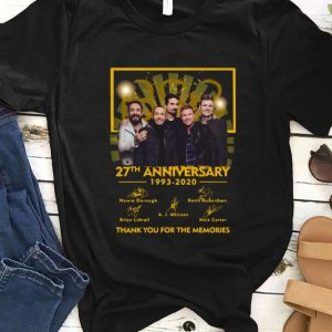 Original Backstreet Boys Bsb 27th Anniversary 1996-2020 Signature shirt