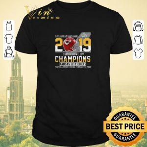 Original Chiefs Kingdom 2019 Super Bowl Liv Champions Kansas City Chiefs shirt sweater