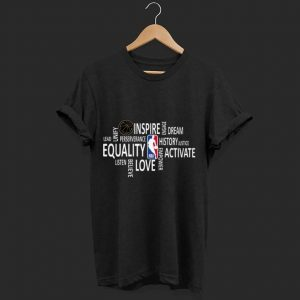 Original NBA Black History Month 2020 Equality Dream Love shirt