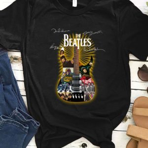 Original Signatures The Beatles Guitarist shirt
