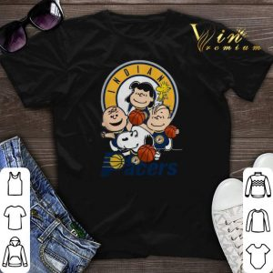 Peanut characters mashup Indiana Pacers shirt sweater