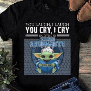 Premium Baby Yoda You Offend My Toronto Argonauts I Kill You shirt