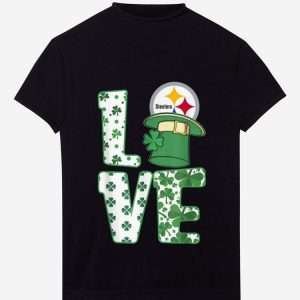 Premium St.patrick's Day Football Love Team Pittsburgh-steeler shirt