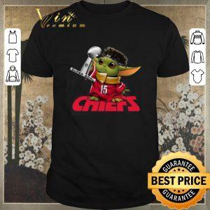 Pretty Baby Yoda Mashup Patrick Mahomes Super Bowl Kansas City Chiefs shirt