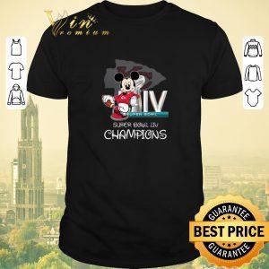 Pretty Disney Mickey Kansas City Chiefs Super Bowl Liv Champions shirt sweater