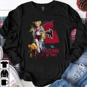 Pretty Harley Quinn Atlanta Falcons Of Prey Atlanta Falcons Flag shirt
